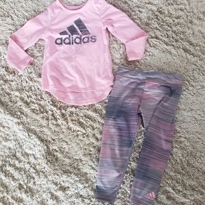 Girls 24m Adidas outfit.